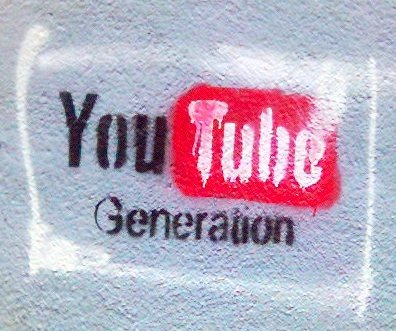 YouTube Generation grafitti