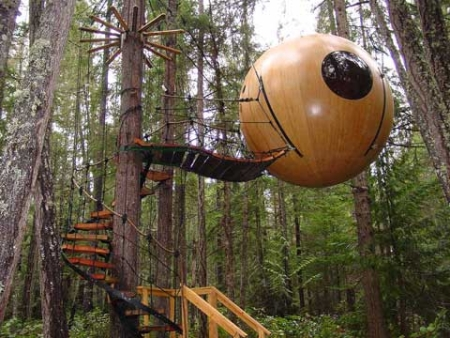Free Spirit tree-house